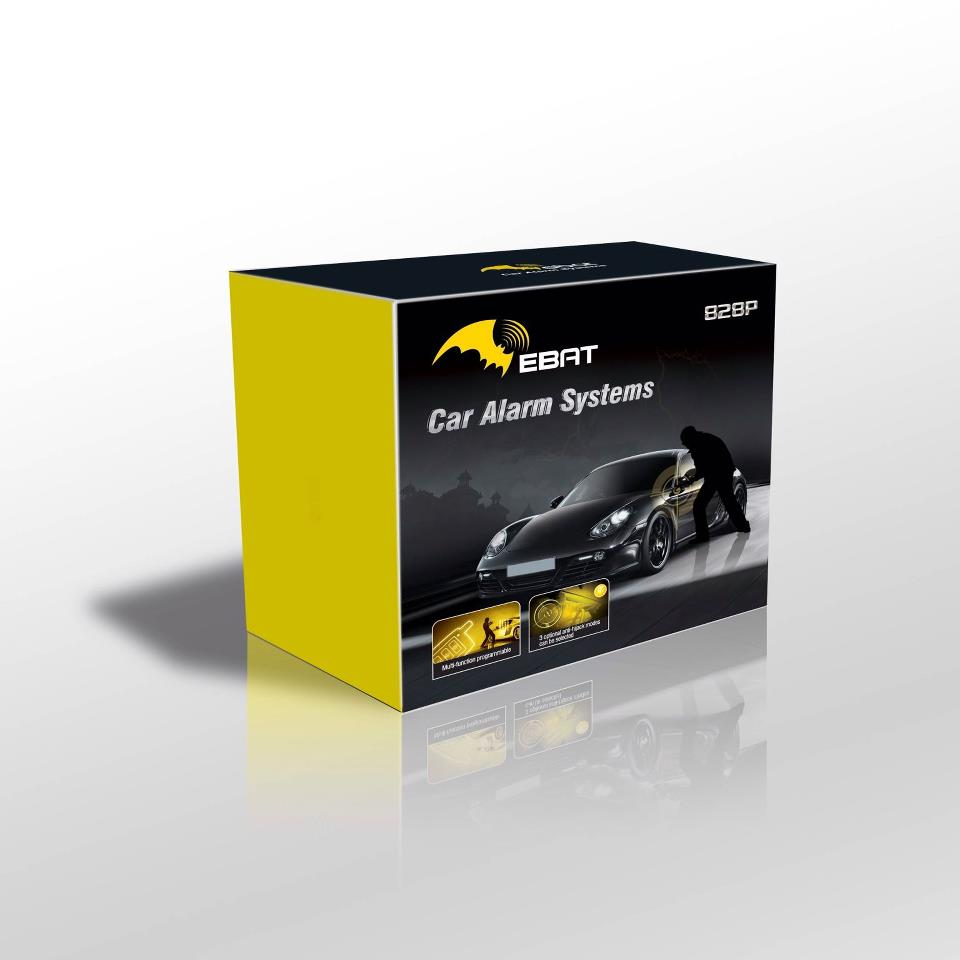 CAR ALARM STEELMATE EBAT