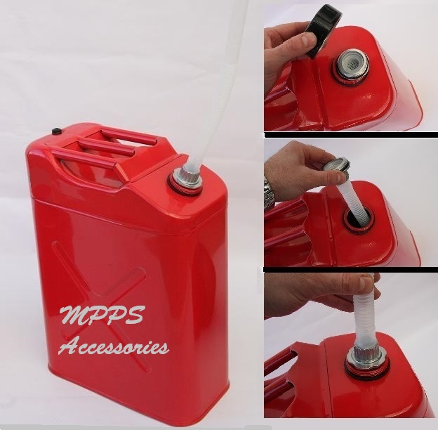 FUEL  20 LITRE  RED JERRY CAN