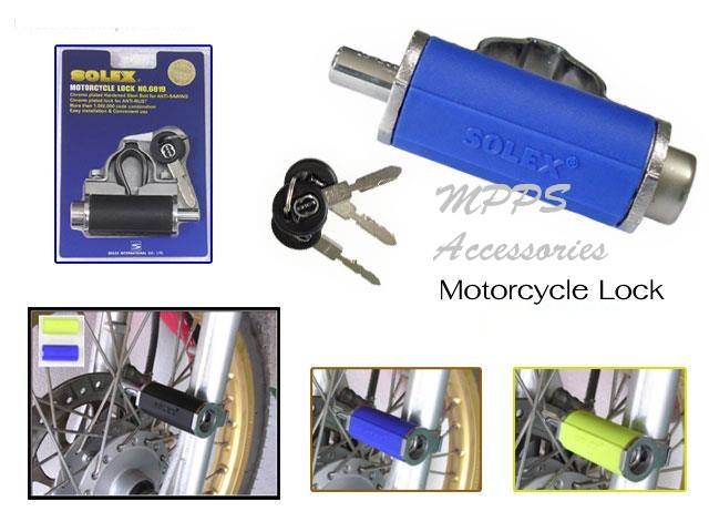 Solex Motorcycle disc lock