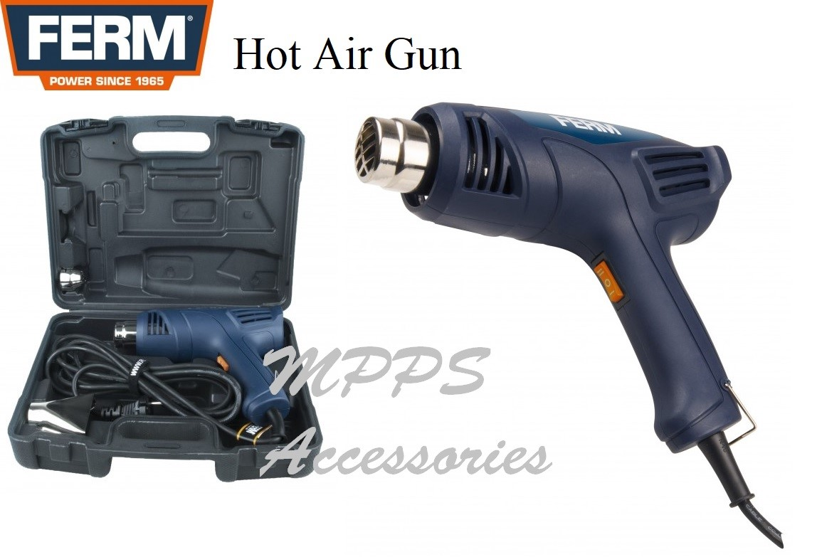 POWER TOOL HOT AIR GUN 2000W FERM
