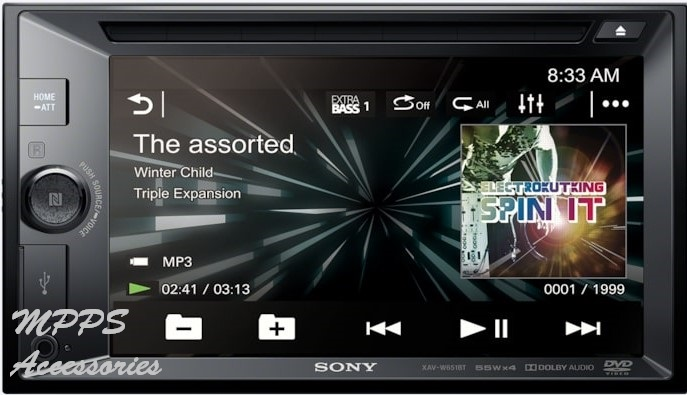 VEHICLE ENTERTAINMENT SONY CAR STEREO