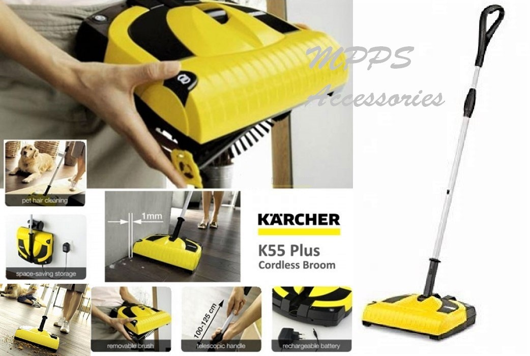 CORDLESS ELECTRIC BROOM KARCHER