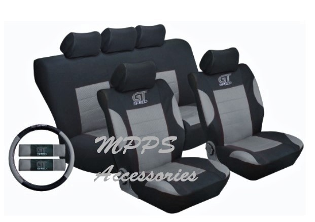 STINGRAY GT SPEED 14PC SEAT COVER SET